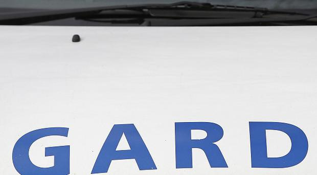 Armed gardai and the army were forced to seal off streets in Bailieborough, Co Cavan