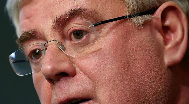 Tanaiste Eamon Gilmore said there were some positive signs on the labour market