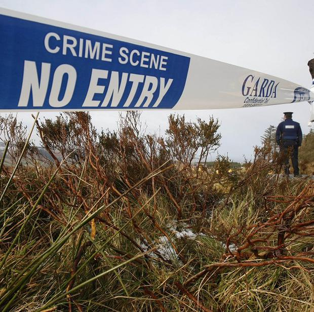 Garda said the scene is preserved for a technical examination