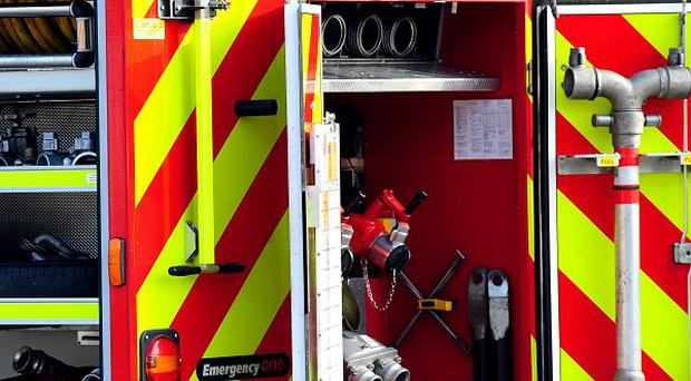The child's mother and her partner were returning to the house from a night out when they discovered the fire