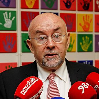 Ruairi Quinn said parents, families and the wider community have an important role to play in tackling all forms of bullying