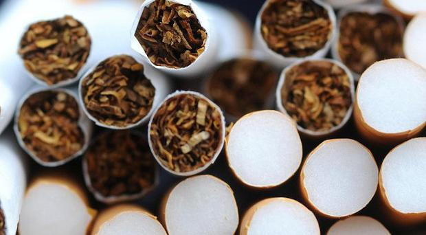 Four men have been arrested and a haul of nine million cigarettes intercepted by gardai and customs