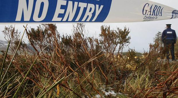 Gardai have searched a number of locations after Elaine O'Hara's body was discovered in undergrowth by a woman walking her dog in the foothills of the Dublin mountains