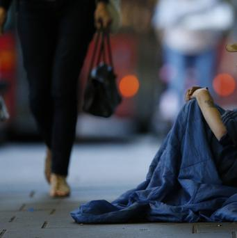 Some 85 people were found sleeping rough over the course of one night in September