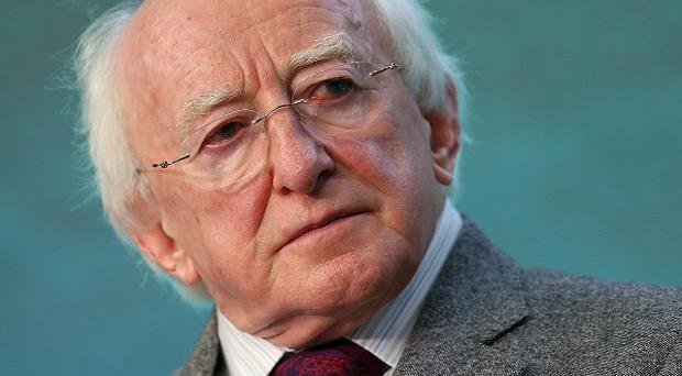 President Michael D Higgins denies a lecture he gave violated his office's political impartiality.