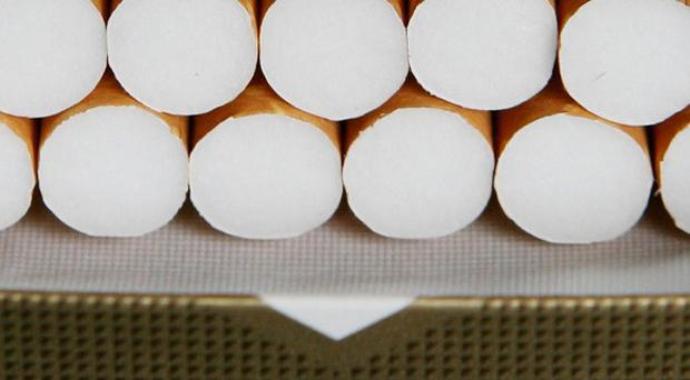 Cigarettes worth more than 11,000 euro have been seized by customs officials