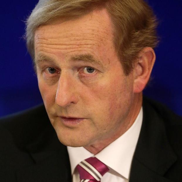 Taoiseach Enda Kenny has paid tribute to the people of Athlone and their reactions to the alleged incident