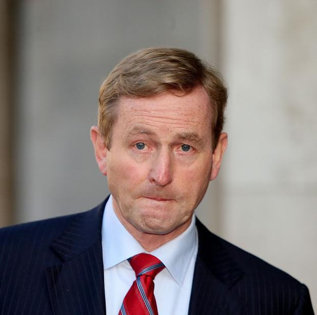 Taoiseach Enda Kenny said that income tax would remain untouched in the budget
