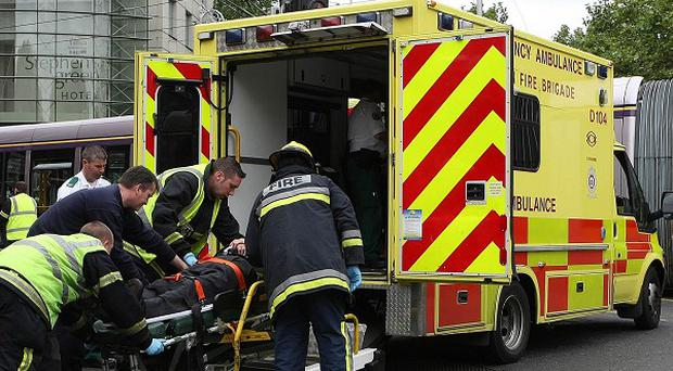 A motorist had died and five people were injured in a car crash on the Dunshaughlin to Dunboyne road in Co Meath
