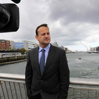 Minister for Transport Leo Varadkar was stuck in a lift