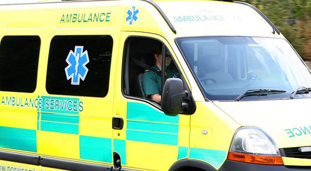 A man has been taken to hospital after a hit and run in Dublin