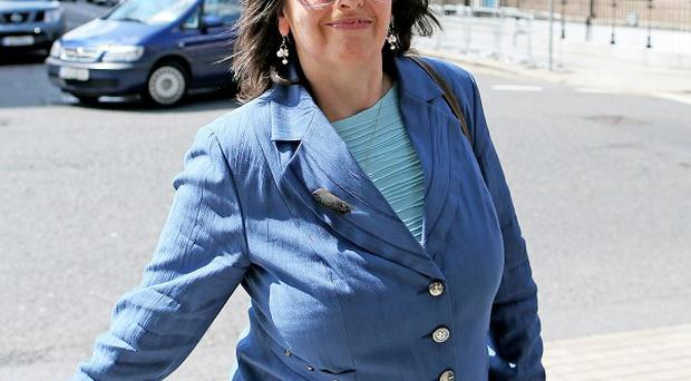 Josephine Feehily will be grilled over a controversial move to make some homeowners pay property tax early