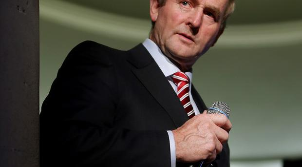 Enda Kenny has called for safeguards to protect people's bank accounts.