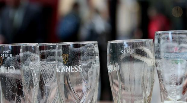 There has been a drop in the number of people admitted to hospital for alcohol dependency, doctors said