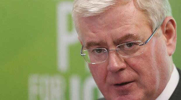 Taniste Eamon Gilmore has said Ireland can look forward to a brighter future