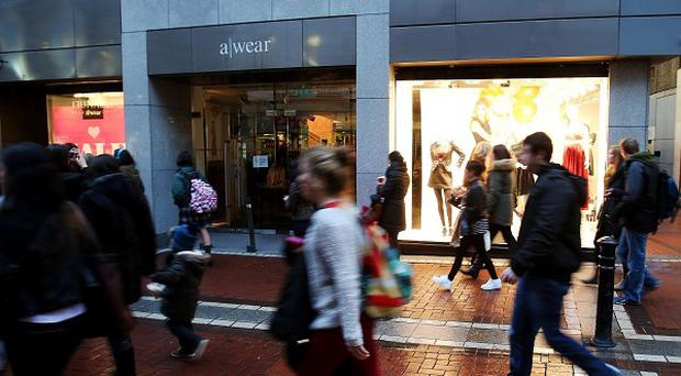The A-wear chain was closed last week before four stores were allowed to continue trading