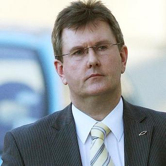 Democratic Unionist MP Jeffrey Donaldson expressed fears over the Haass talks process aimed at resolving Northern Ireland's difficult issues