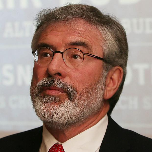 Gerry Adams claimed two RUC officers murdered in an IRA ambush following a tip-off from a terrorist mole in the Irish police disregarded their own safety