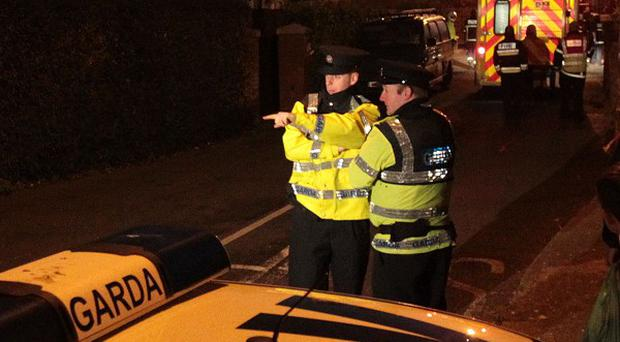 Emergency services were called to an armed siege in the Windy Arbour area of south Dublin.