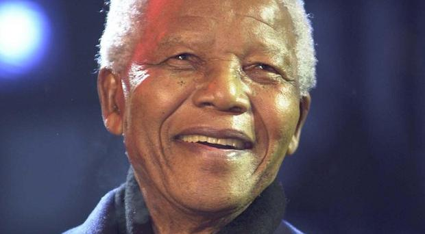 Nelson Mandela has been hailed as an inspiration by Mary Manning.