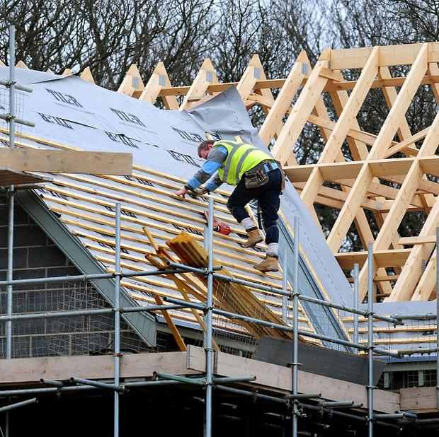The rate of increase in construction was not as rapid as in October, but is still going in the right direction