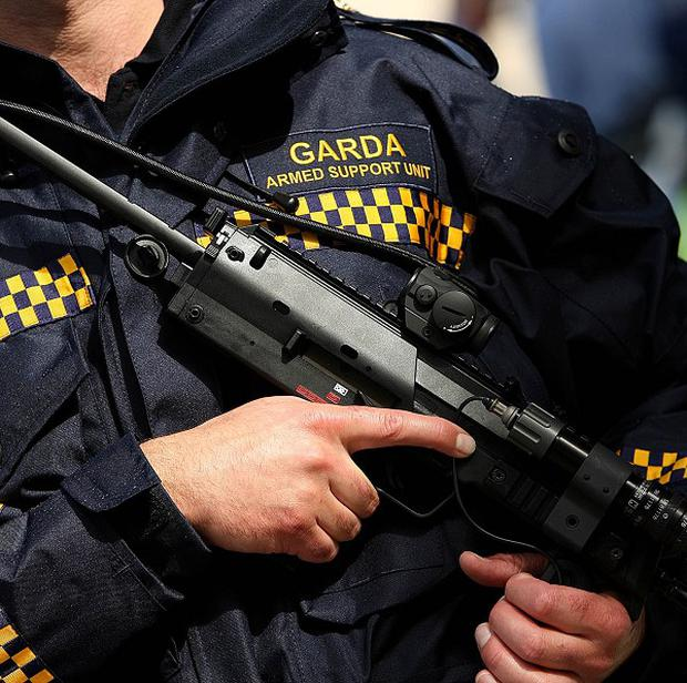 A man and woman have been shot in front of a seven-year-old boy at their home on the Cluain Darach estate in Tullamore