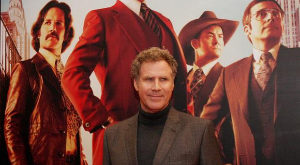 Will Ferrell attends the Irish premiere of Anchorman 2: The Legend Continues