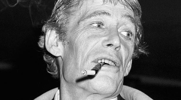 Peter O'Toole was known for hell-raising antics during much of his life.