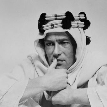 Peter O'Toole was perhaps best known for his role as Lawrence of Arabia (AP)