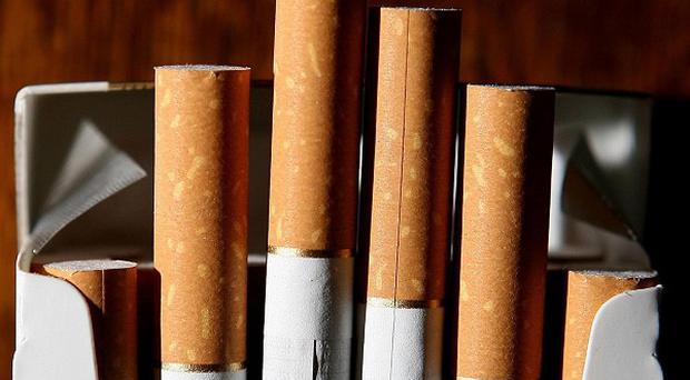 Counterfeit cigarettes and tobacco have been seized at the Balbriggan Sunday Market