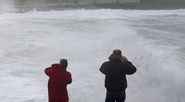 Weather forecasters have issued an orange alert for conditions nationwide