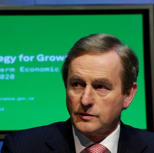 Enda Kenny said giving relief to the so-called coping class that has been squeezed by the last seven austerity Budgets will be a priority