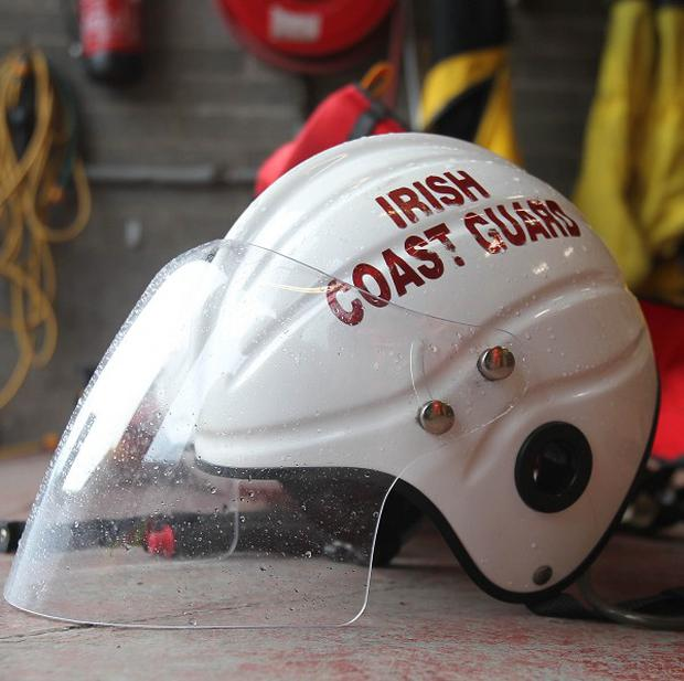 The Irish Coast Guard is attempting to rescue a 108-metre cargo ship stranded in high seas and strong winds off the coast of Co Cork
