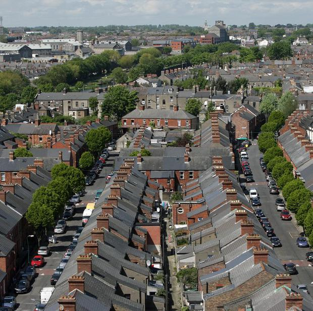 Lack of supply is pushing up Dublin house prices.