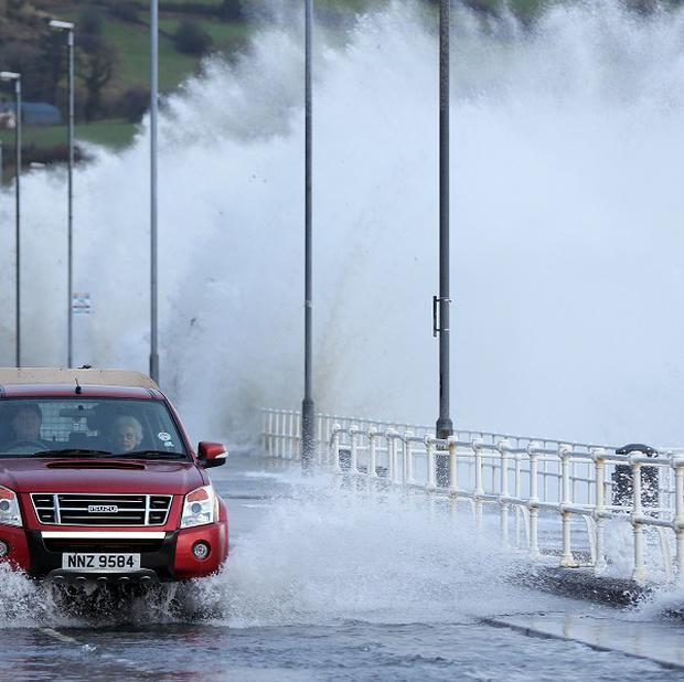 Weather forecasters have warned of continued stormy conditions