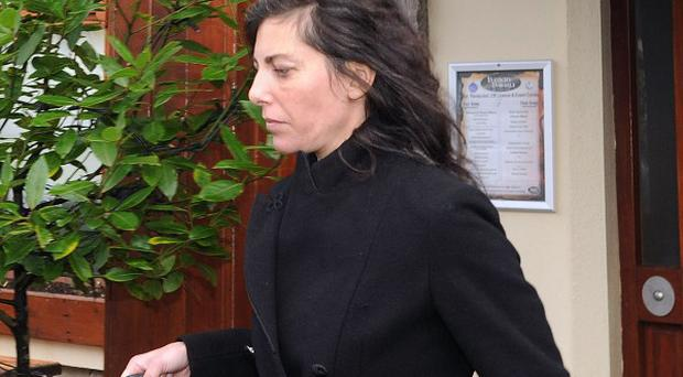 Jennifer Lauren, niece of fashion designer Ralph Lauren, faces sentencing for being drunk and abusive on a plane.