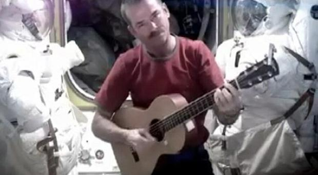 Chris Hadfield is to be a tourism ambassador for Ireland