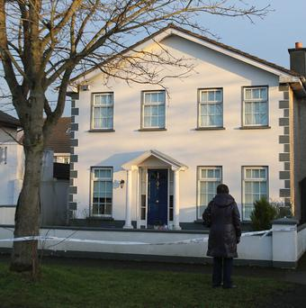 The house in Dublin where Tom O'Gorman's body was found