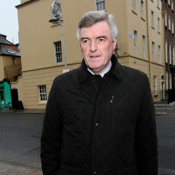 John Tierney faced questions over spending on consultants at Leinster House
