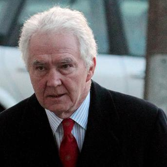 Sean FitzPatrick faces charges of trying to inflate the share price of the now-defunct lender Anglo Irish Bank
