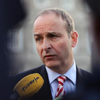 Fianna Fail leader Micheal Martin has handed a dossier on the allegations to Enda Kenny