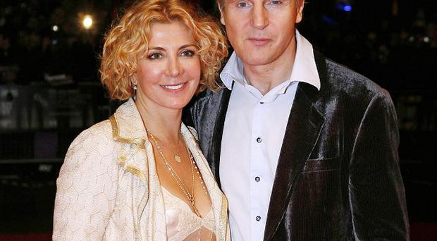 Liam Neeson still struggles to come to terms with the loss of his wife Natasha Richardson