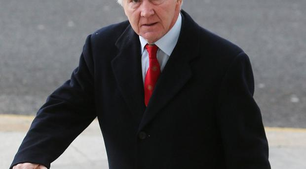 Sean FitzPatrick, former chairman of Anglo Irish Bank, faces charges of trying to inflate the share price of the now-defunct lender.