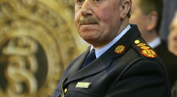 Garda commissioner Martin Callinan stood down, claiming it was for the good of his family and the force