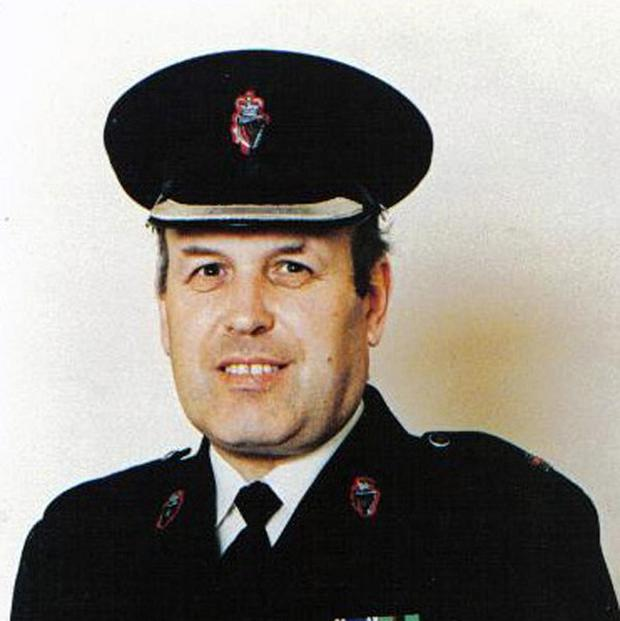 RUC Superintendent Bob Buchanan who was murdered by the IRA