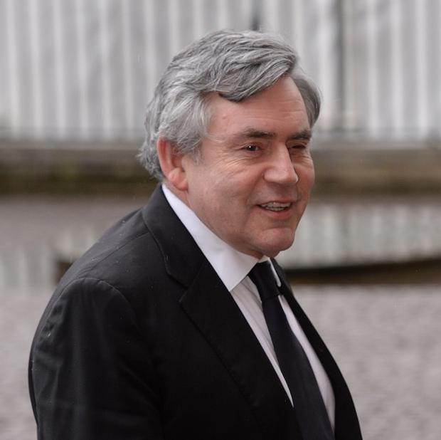 Big hitter: Former Prime Minister Gordon Brown is strongly pro-Union and his popularity remains high in Scotland