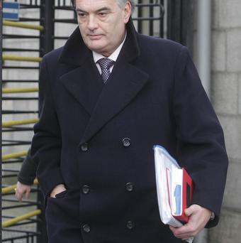 Ian Bailey leaves the Supreme Court in Dublin