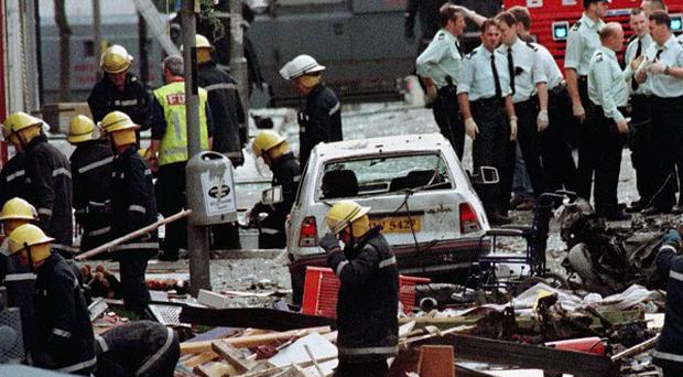 Seamus Daly has been charged with murdering 29 people in the Real IRA Omagh bombing of 1998