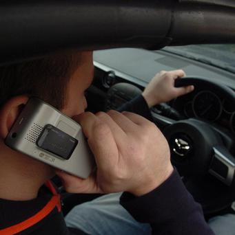 Drivers have been warned against using phones while at the wheel