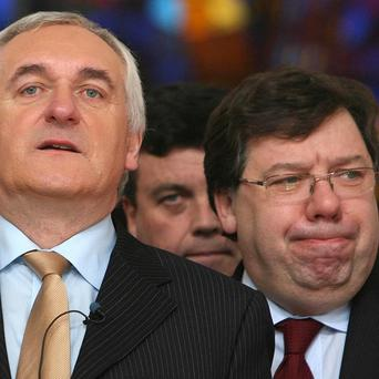Bertie Ahern and Brian Cowen will give evidence to an inquiry into Ireland's banks